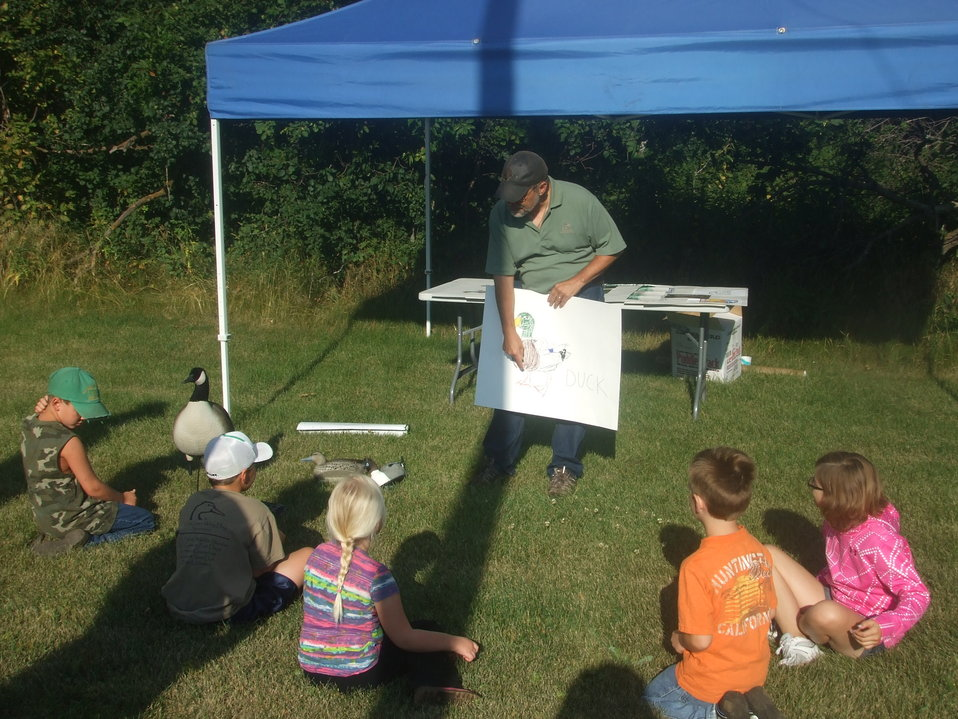 2011 Greenwing Day - Ducks Unlimited Waterfowl ID session