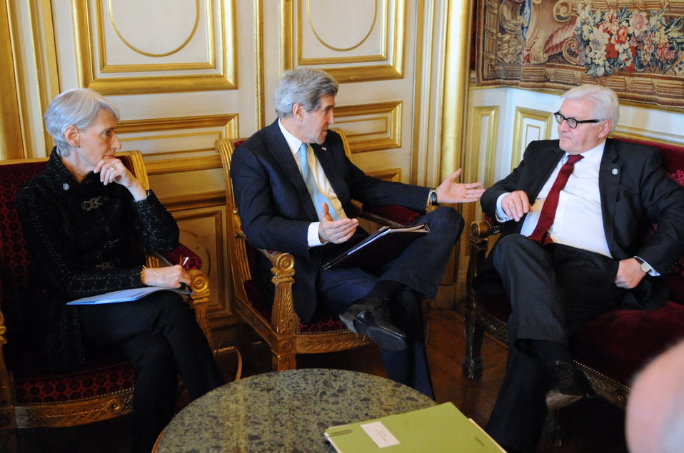 Secretary Kerry, Under Secretary Sherman Meet With German Foreign Minister Steinmeier