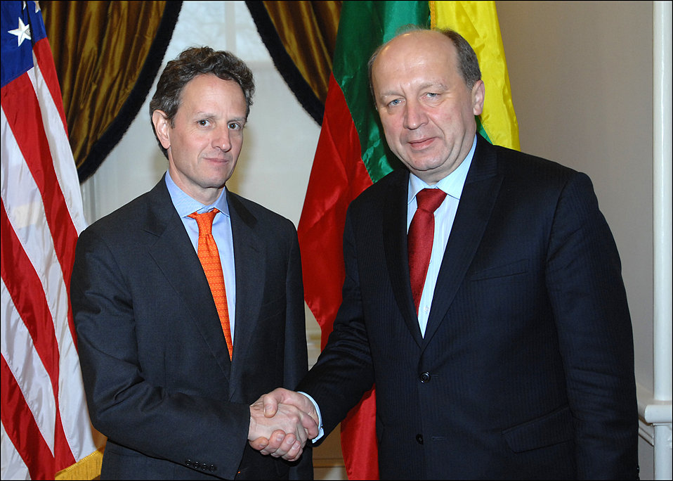 Lithuanian Prime Minister Andrius Kubilius