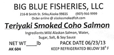 RECALLED – Salmon, Cod