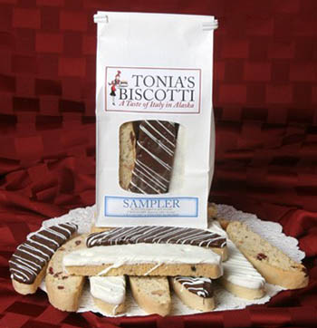 RECALLED – Lemon Biscotti Dipped in White Chocolate