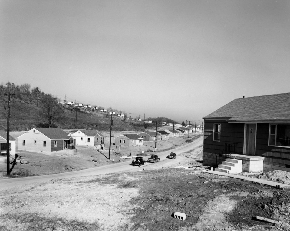 East Village 1954 Housing Oak Ridge