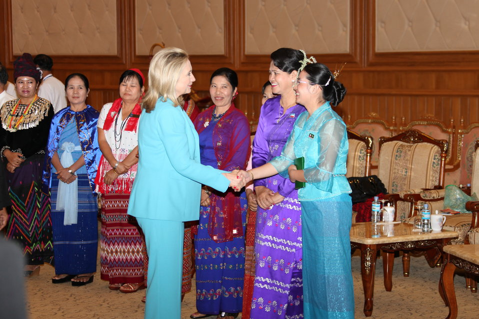 Secretary Clinton Meets With Members of the Lower House of Parliament