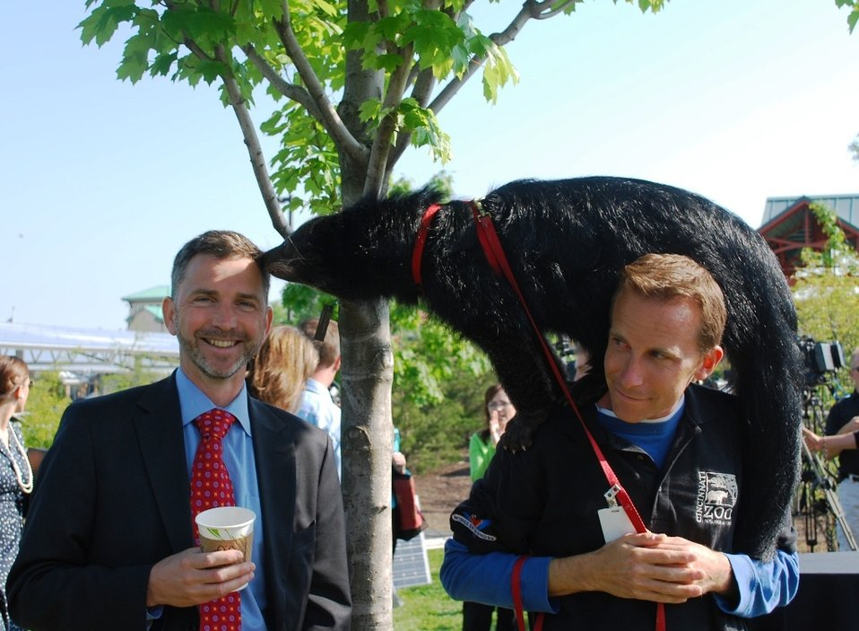 Assistant Secretary Tangherlini at the Cincinnati Zoo
