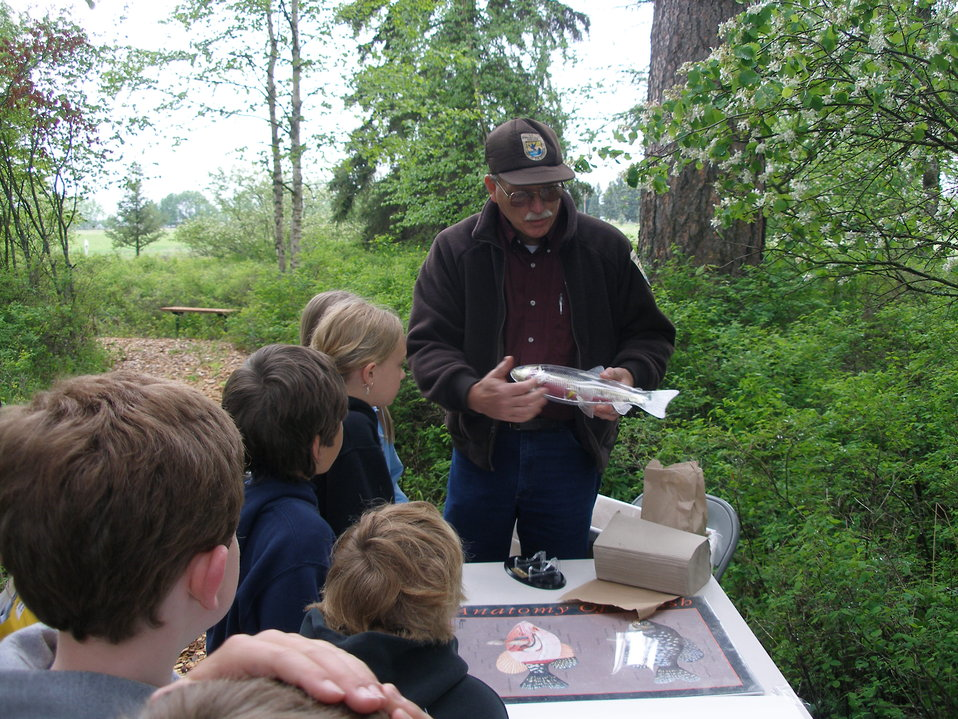 Creston National Fish Hatchery's Annual Fish Fun Fair for Third Graders