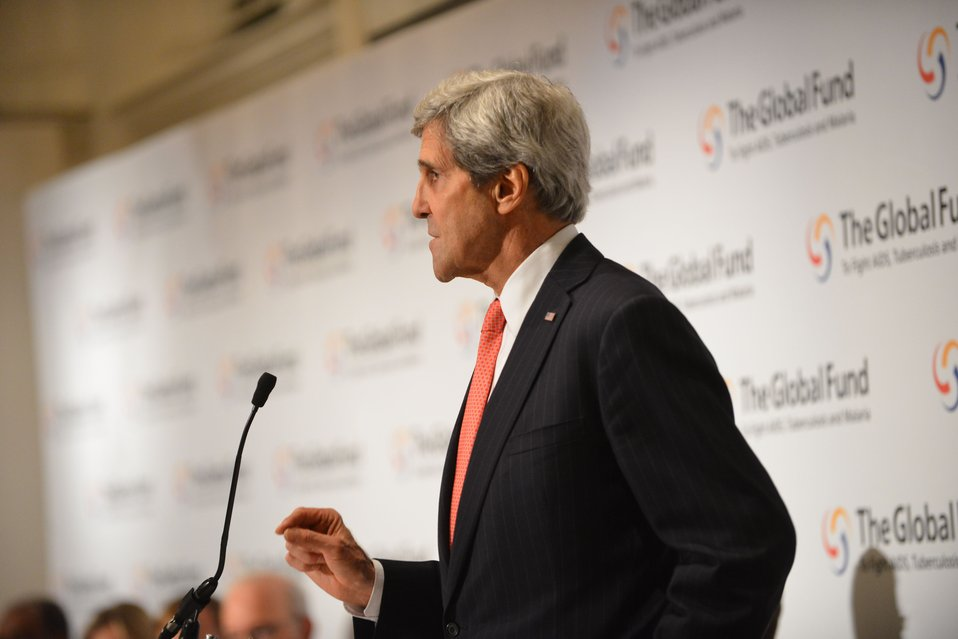Secretary Kerry Delivers Remarks at the Partnership Symposium of the Global Fund's Fourth Replenishment Conference