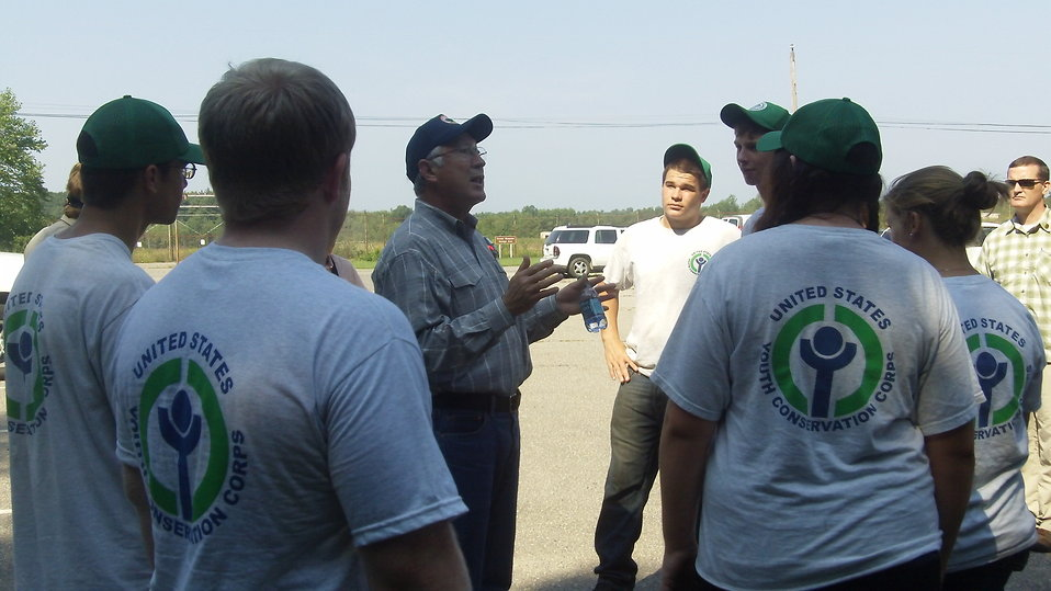 Secretary Salazar visit to Great Bay
