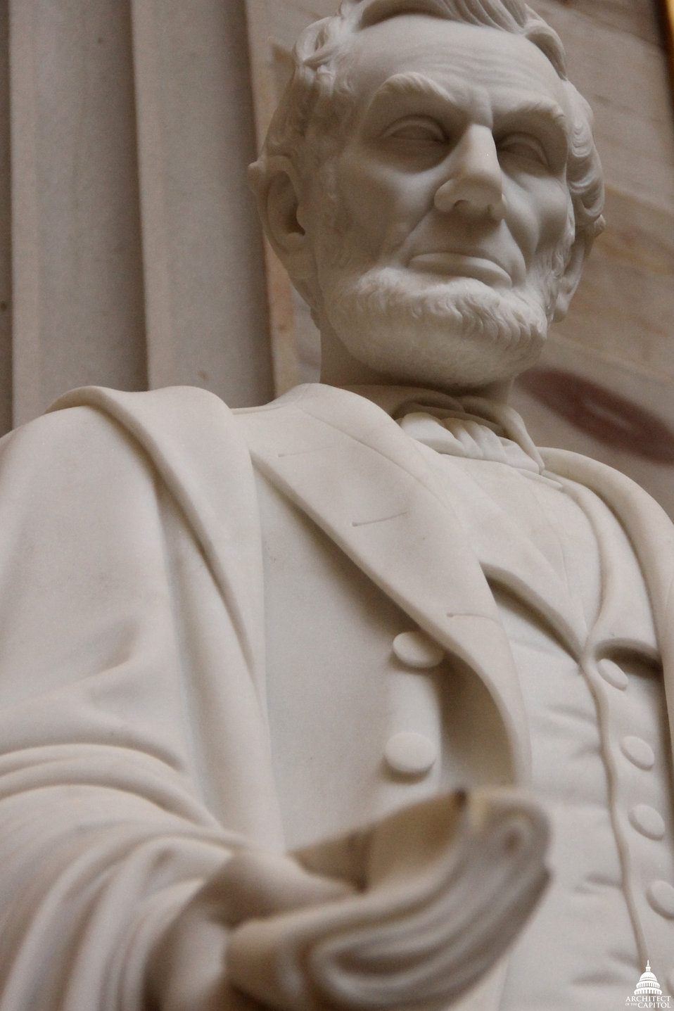 Abraham Lincoln Statue by Vinnie Ream