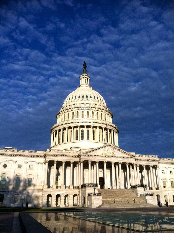 U.S. Capitol at Dawn