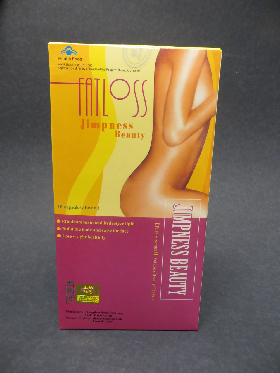 Jimpness Beauty Fat Loss Capsules