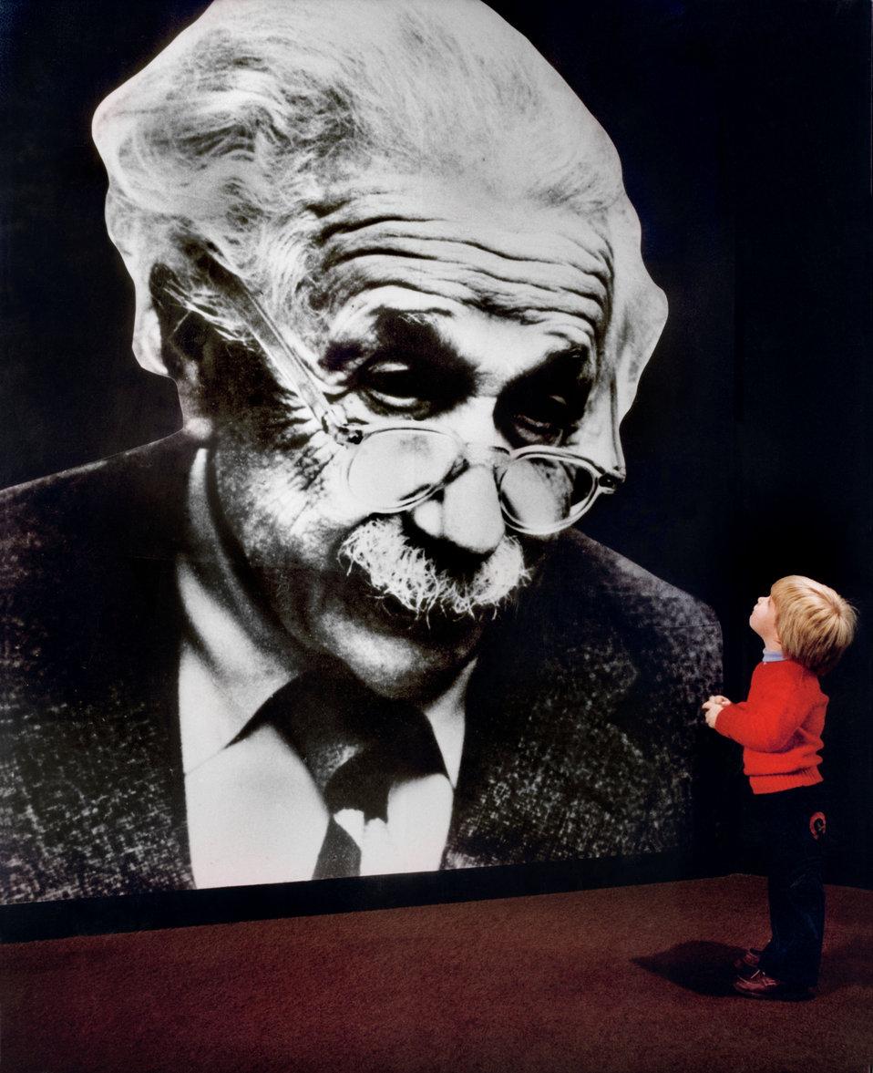 Einstein  Exhibit at American Museum of Science and Energy Oak Ridge