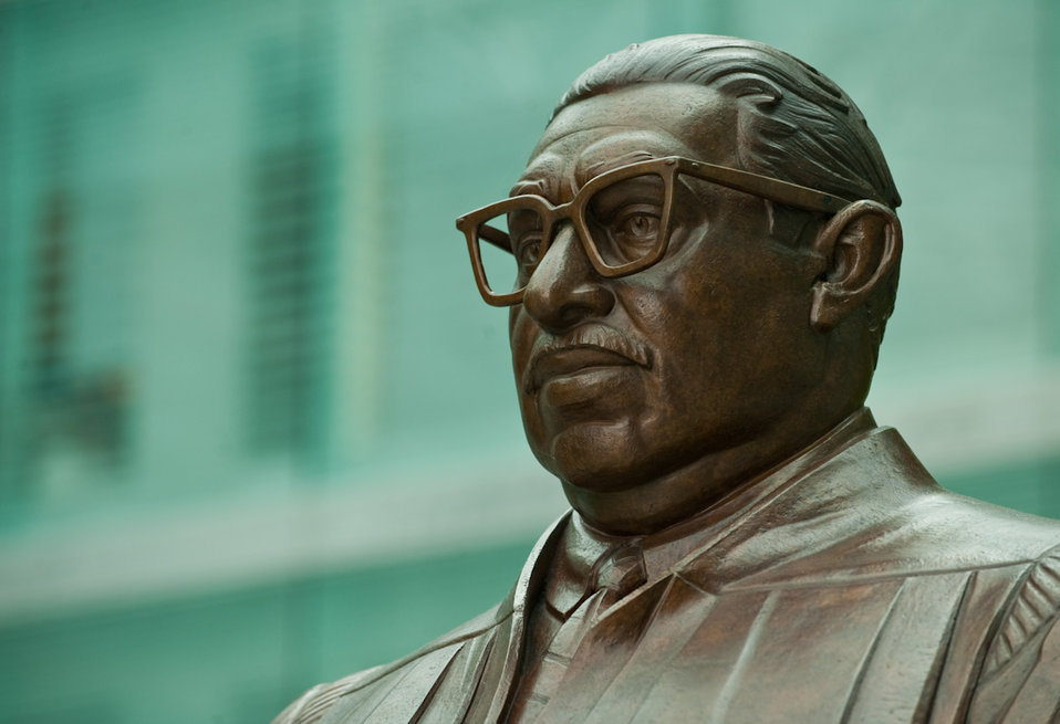 Bust of Thurgood Marshall