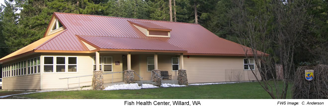 Office building - Lower Columbia River Fish Health Center