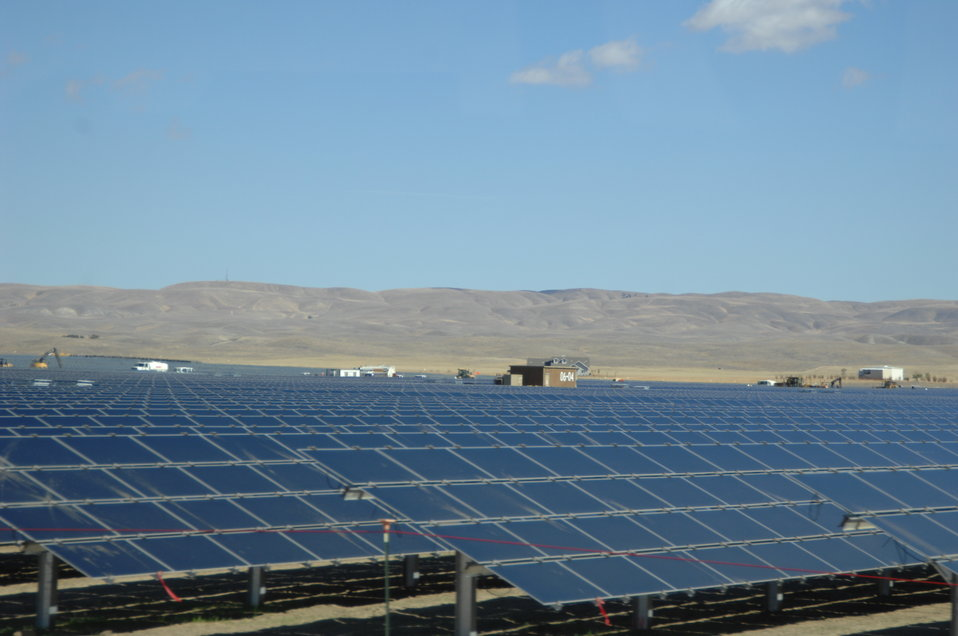 Solar Panels at Topaz Solar 7