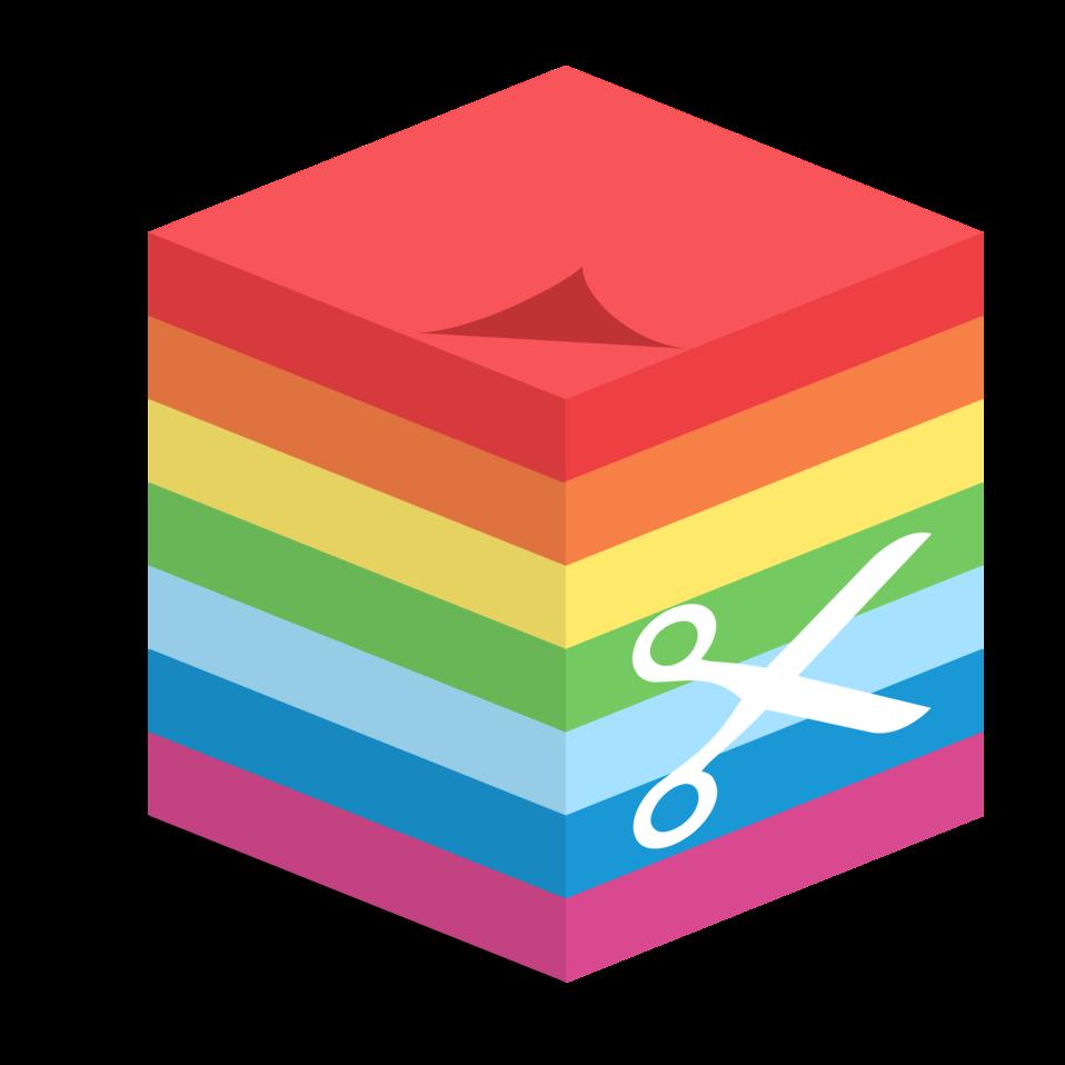 sticky cube notes