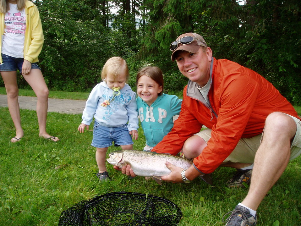 Northeast Fishery Center's Annual Fishing Event