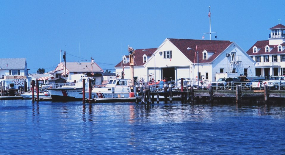 The U. S. Coast Guard Station
