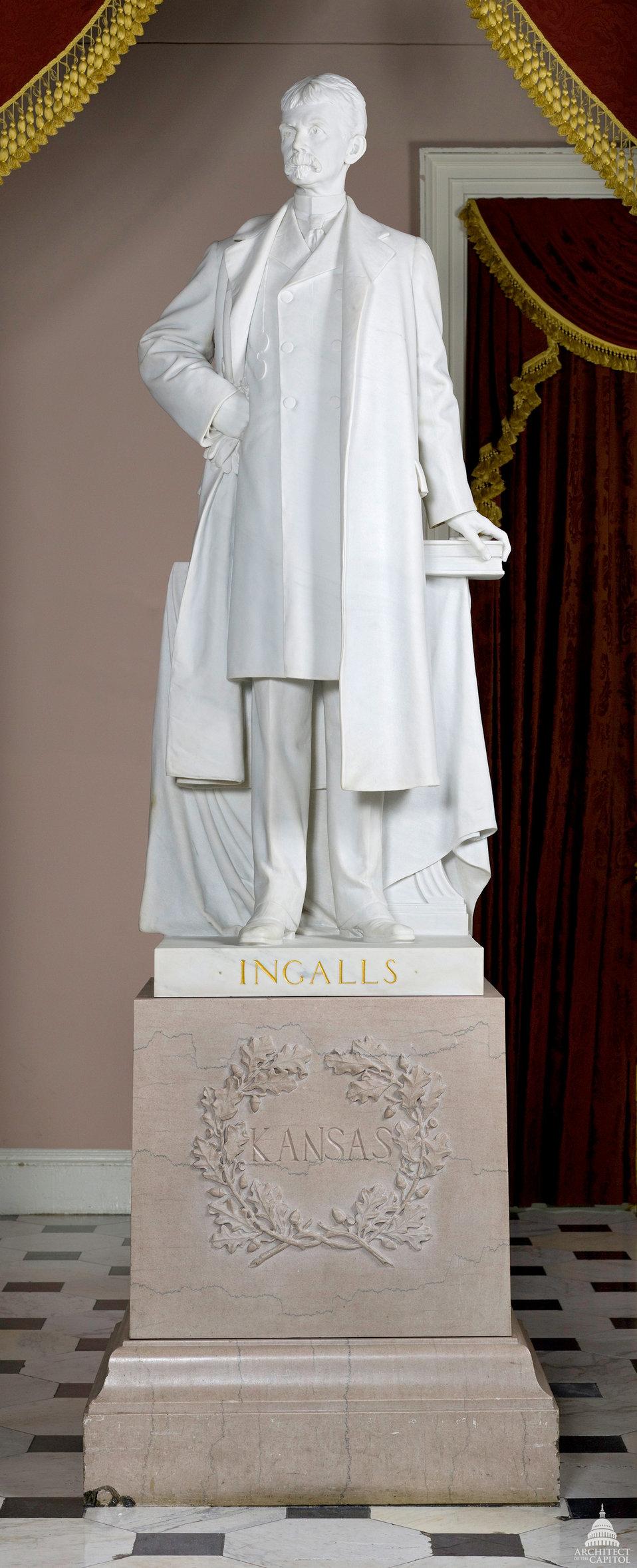 John James Ingalls Statue