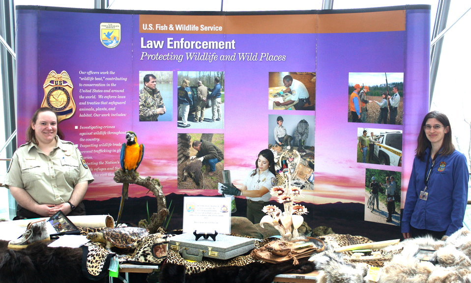 USFWS at Kid's Day