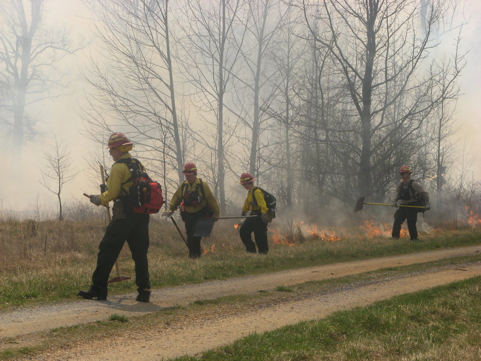 Controlled burn ignition