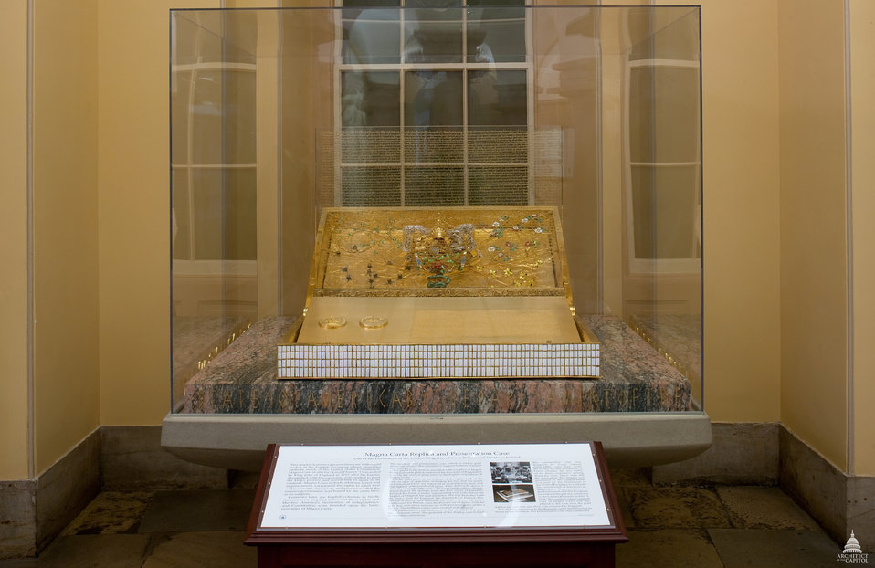 Magna Carta Replica and Display