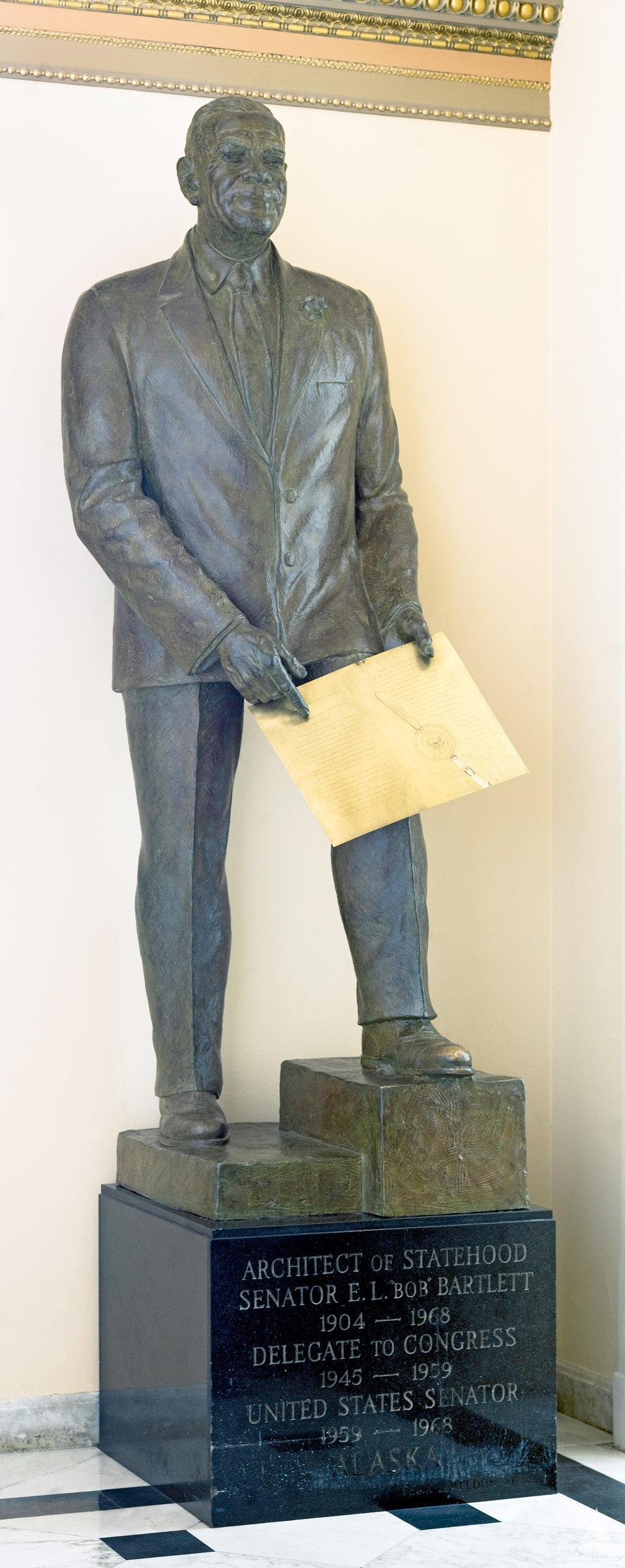 Edward Lewis Bartlett Statue