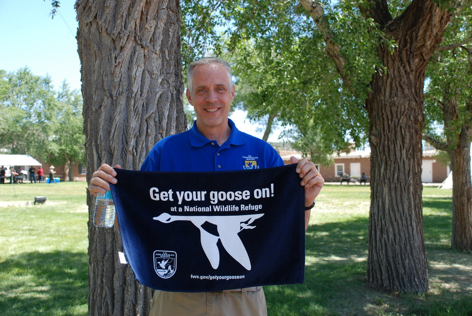 Steve Guertin Gets His Goose On!