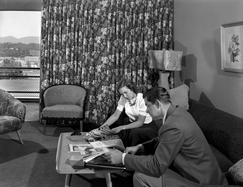 Garden Apartments Interior Oak Ridge 1949
