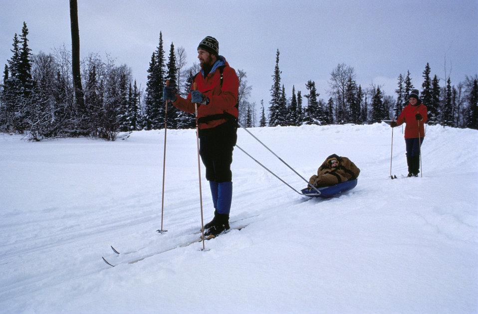 Kenai skiers