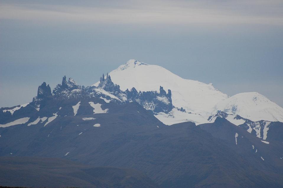 Aghileen PinnaclesandPavlof volcano