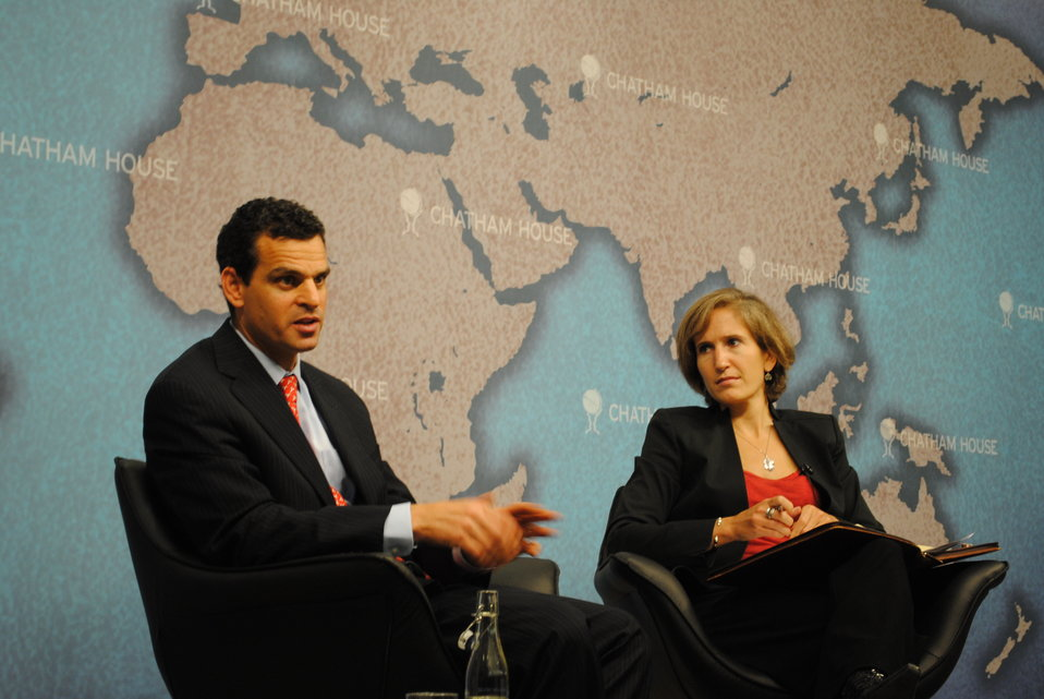 Under Secretary for Terrorism and Financial Intelligence David Cohen at Chatham House in London