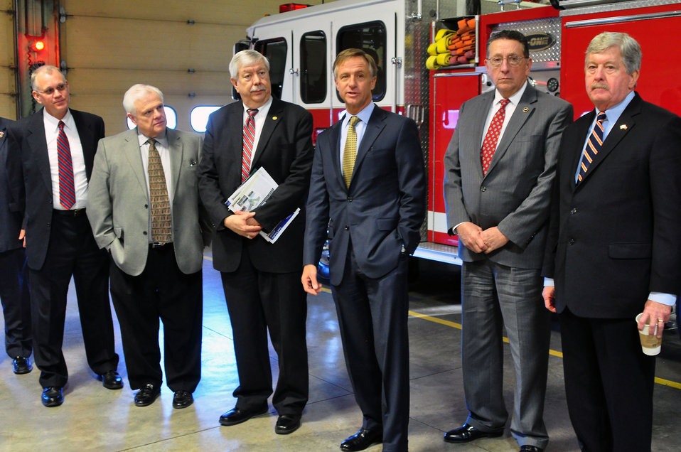 Gov. Bill Haslam Visit to ETTP 2014 Oak Ridge