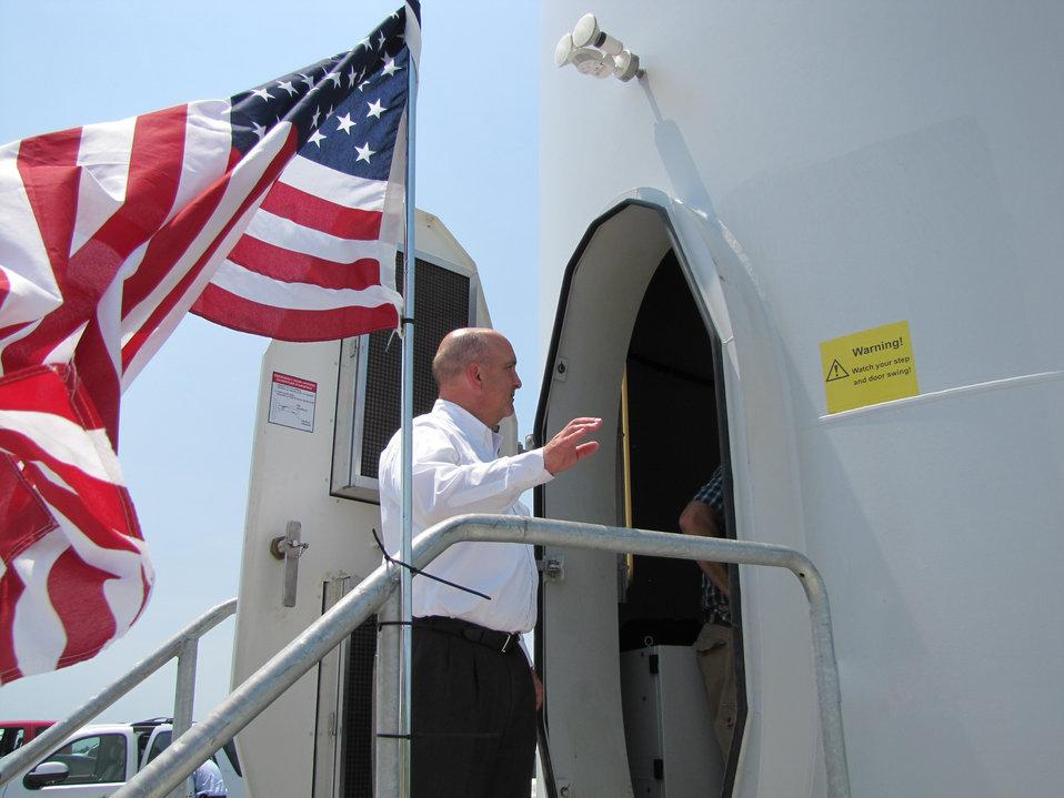 Sen Harkin Iowa Visit July 2 1