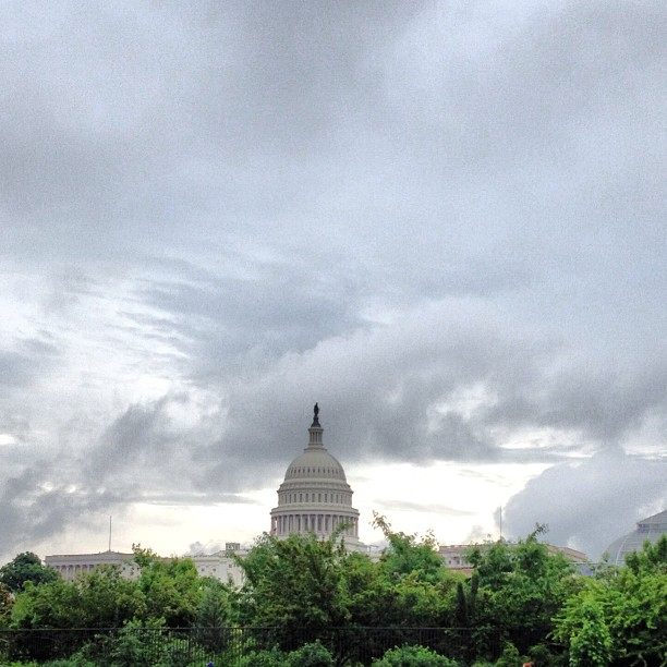 Welcome to a rainy Monday on Capitol Hill.