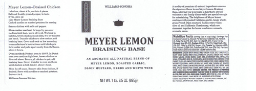 Meyer Lemon Braising Base