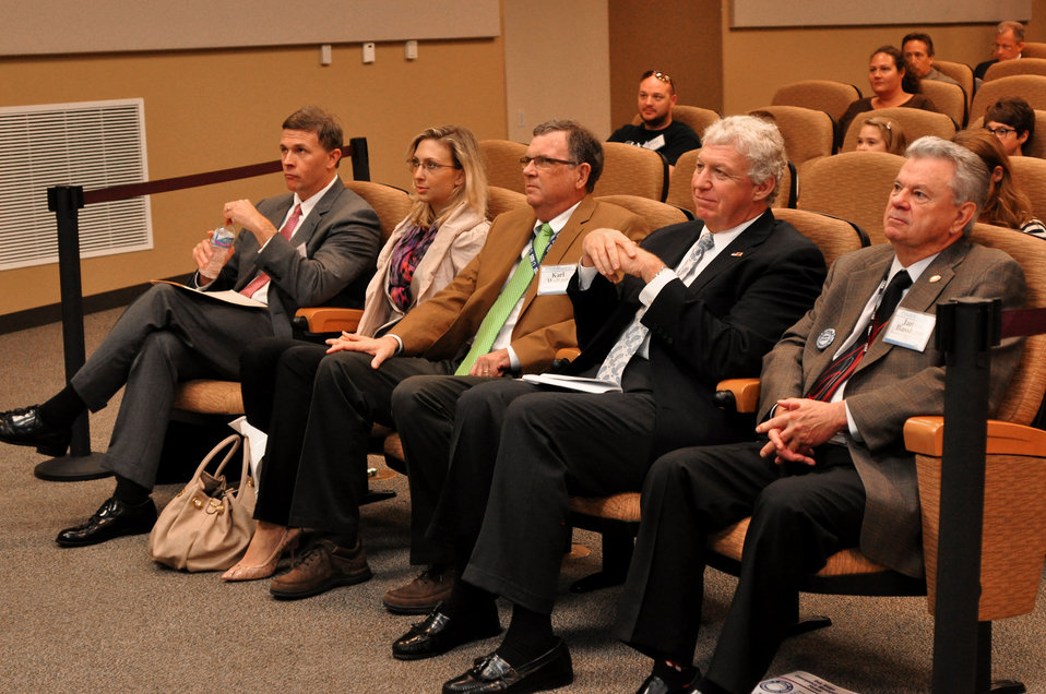 Don Thress Chief Counsel for DOE ORO , Desiree Matel-Anderson Chief Innovation Advisor, FEMA, Carl Waltzer Y-12,Richard Serino Deputy Administrator, FEMA Major General(RET) James Bassham, Dir. TEMA in Oak Ridge 2013