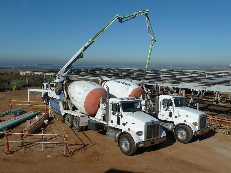 New San Diego Complex Administration Building Concrete Pour