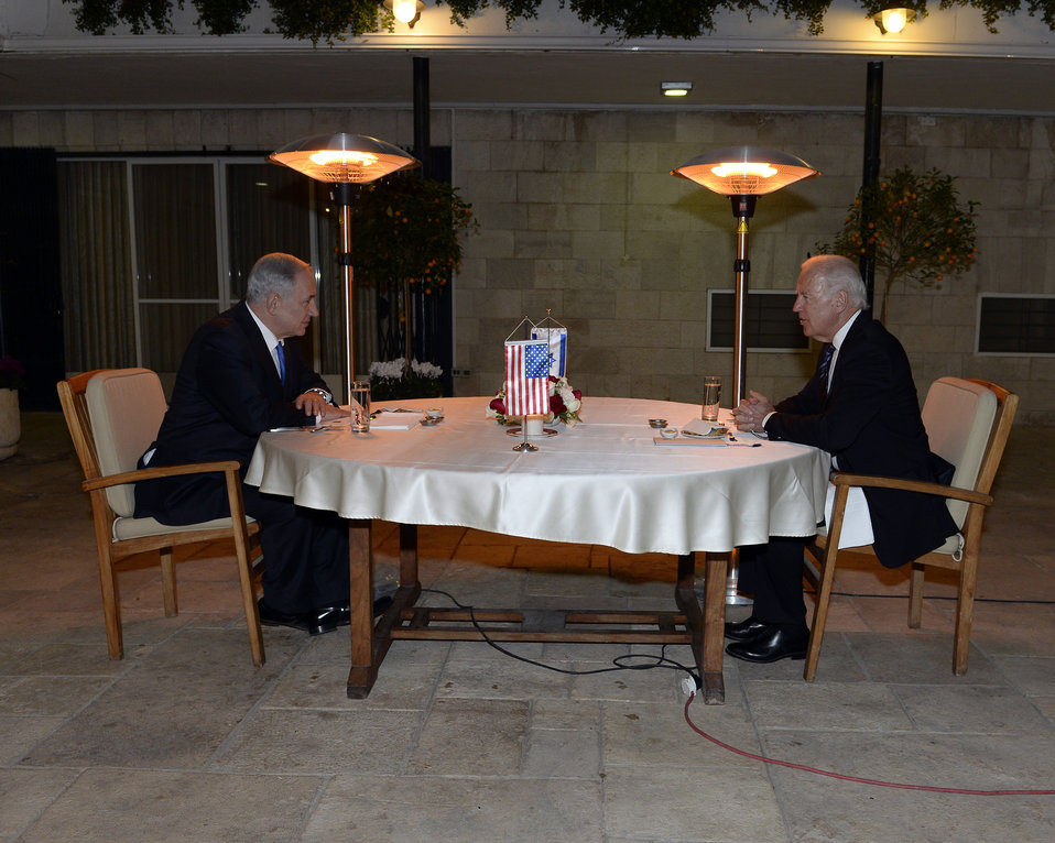 Vice President Biden Meets With Israeli Prime Minister Netanyahu