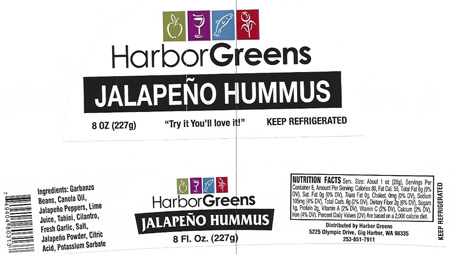 RECALLED – Hummus