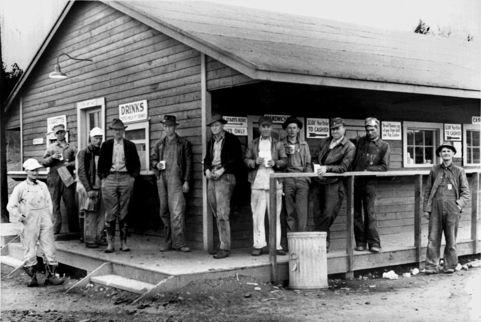 Workers on Break at Store Oak Ridge