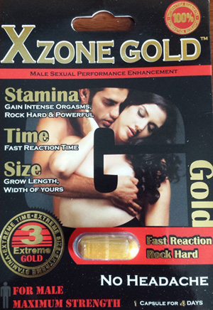 RECALLED – Dietary Supplement for Sexual Enhancement