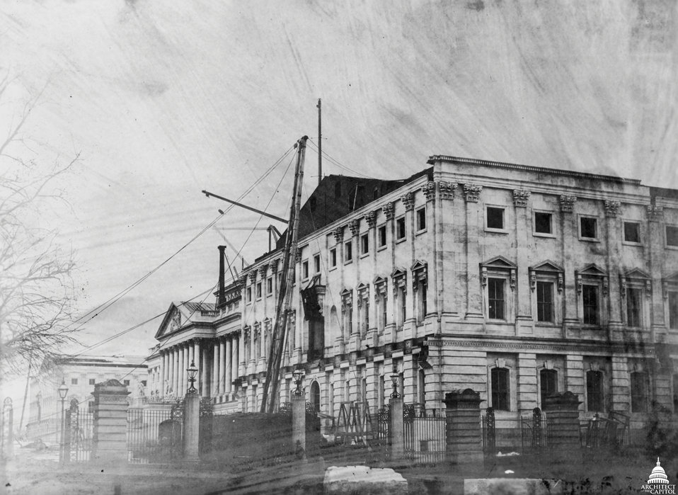 Senate Construction c. 1856