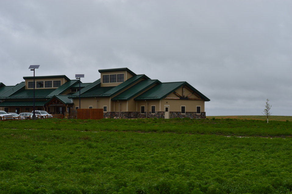 Audubon NWR Visitor Center and offices