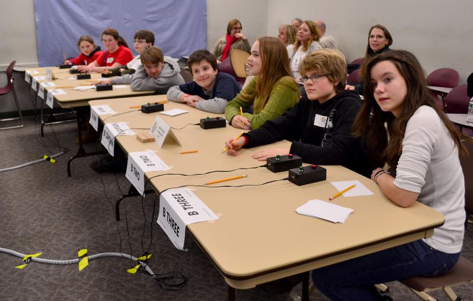 DOE Tennessee Middle School Science Bowl Oak Ridge
