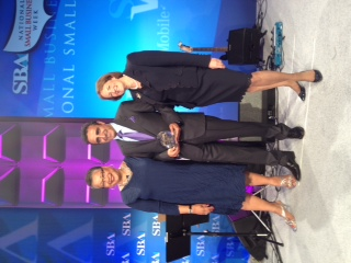 Chobani President and CEO Ulukaya With SBA Administrator Mills and Deputy SBA Adminsitrator Johns