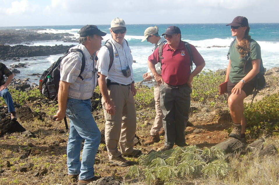 Dan Ashe tours Ka'ena Point State Park in Hawaii