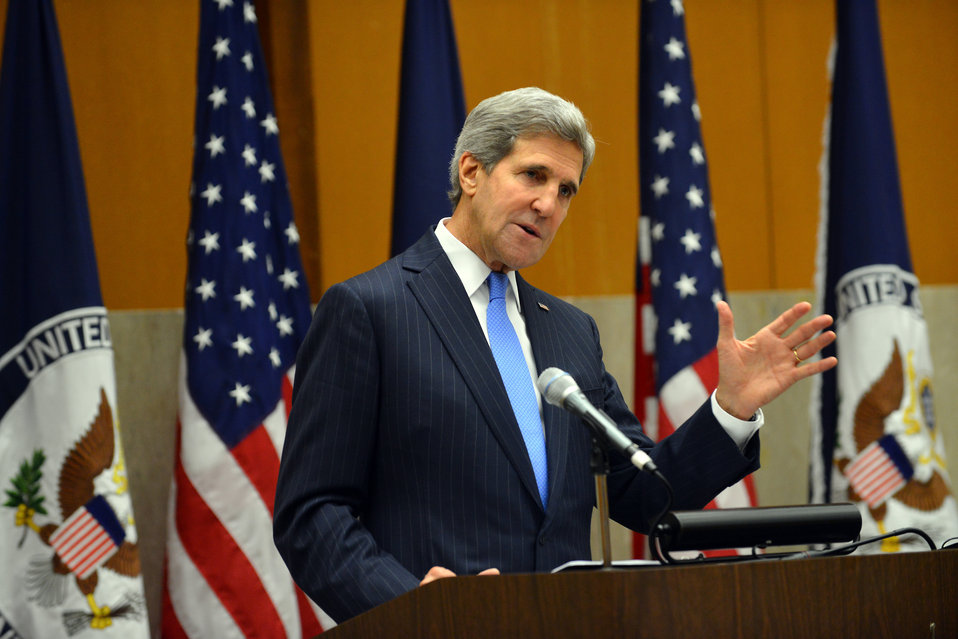 Secretary Kerry Delivers Remarks to the Participants of the Edward R. Murrow Program for Journalists