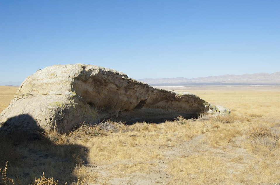 Painted Rock, Formation on the Carrizo Plain 6