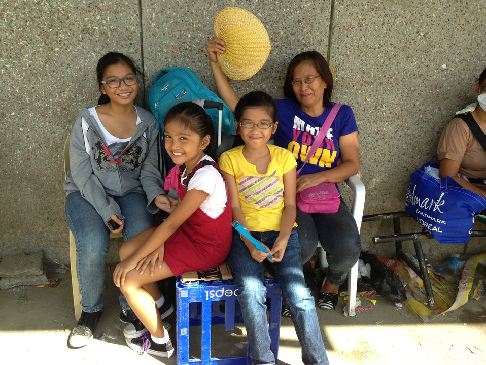 A Tacloban Family Stays Positive