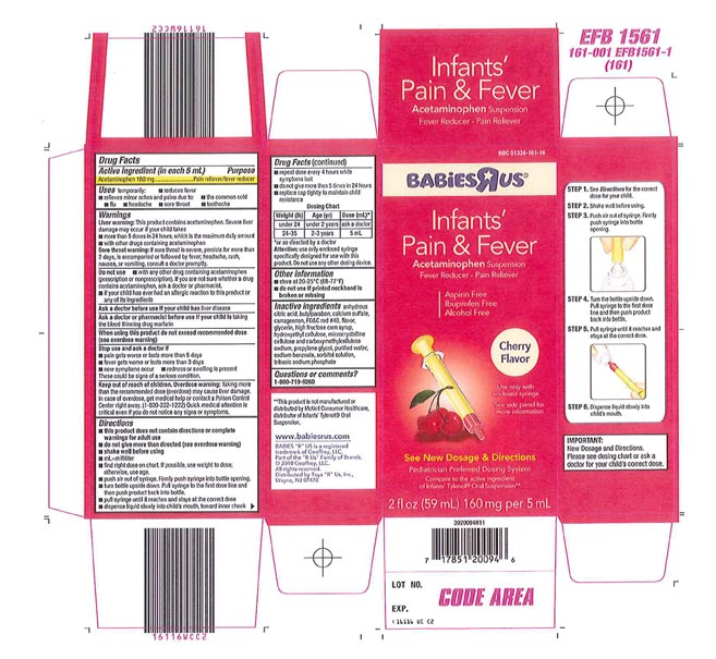 Recalled - Acetaminophen infant suspension liquid